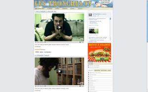 À PROPOS  LesTronches.tv est un site qui met en ligne des vidéos humoristiques chaque semaine. Tout le contenu vidéo qui est sur le site est créé par LesTronches.tv à moins d'une indication contraire.